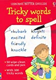 Tricky Words to Spell (Usborne Better English) (Activity Cards)