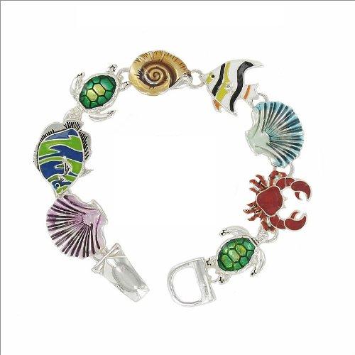 JOA Trendy Artist Ocean Life Design Bracelet #034996