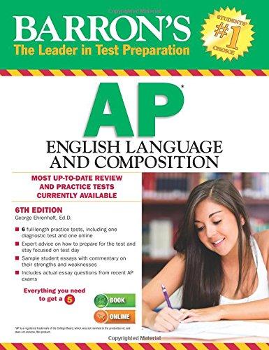 Ap English Language and Composition (Barron's Ap English Language and Composition)