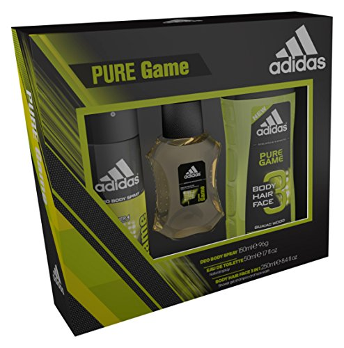 Adidas Pure Game Eau de Toilette/Spray Corpo E Gel Doccia Trio