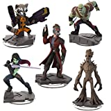 Guardians of the Galaxy Marvel Disney Infinity 2.0 Swappable Figures - Set of 5