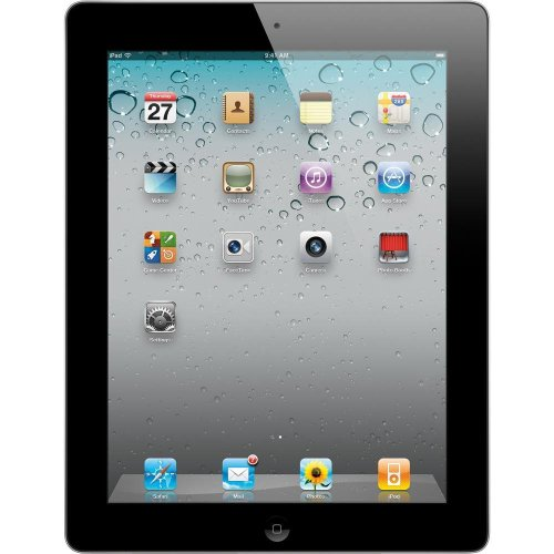 Apple iPad 2 MC916LL/A Tablet (64GB, Wifi, Black) 2nd Generation (Certified Refurbished