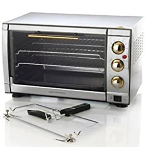 Command Performance 33 Liter Countertop Convection/rotisserie Oven - Bronze Trim