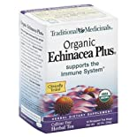 Traditional Medicinals Herbal Tea, Organic Echinacea Plus, 16 ct.