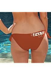 NCAA Texas Longhorns Ladies Burnt Orange Team Bikini Bottom
