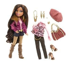 Bratz party doll yasmin toys games Bratz fashion look and style doll