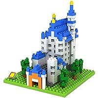 Poco Divo Schloss Neuschwanstein Germany New Swan Stone Castle Micro Block Building Set (550 Pcs)