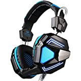 KOTION EACH G5200 7.1 Surround Sound Game Headphone Computer Gaming Headset Headband Vibration With Mic Stereo... - B01LAS36AG