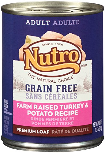 NUTRO Adult Grain Free Turkey and Potato Canned Dog Food, 12.5 oz. (Pack of 12) (Cheap Grain Free Dog Food compare prices)