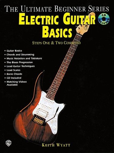 Ultimate Beginner Series: Electric Guitar Basics - Bk+Cd