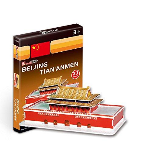 """CubicFun 3D Puzzle S-Series """"Tian'anmen Square - Beijing"""""""