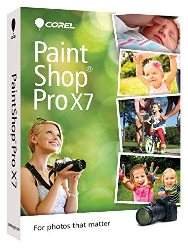 Corel PaintShop Pro X7 [Old Version] (Digital Editing Software compare prices)