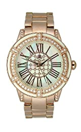 JLO Three-Hand Bracelet - Rose-Gold Women's watch #JL/2732WMRG