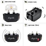 Dogedu DU518DR1 Rechargeable Rainproof 350 Yard Remote Dog Training E-Collar with Vibration shock flashlight Safebeep