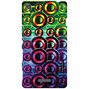 Design Worlds Back Cover For Sony Xperia T3 D5102 - Multicolor