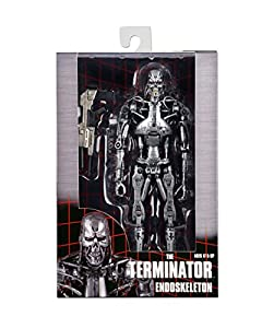 "Terminator - 7"" Action Figure - T-800 Endoskeleton (Retro Packaging)"
