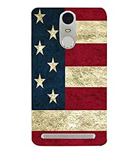 Country flag 3D Hard Polycarbonate Designer Back Case Cover for Lenovo K5 Note :: Lenovo Vibe K5 Note Pro