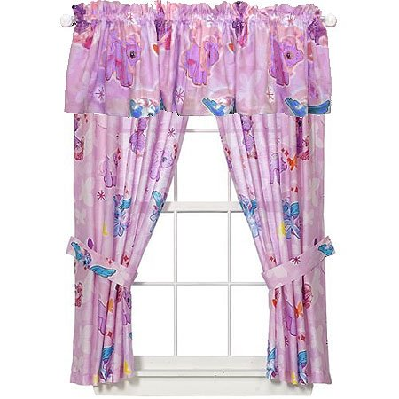 My Little Pony Drapes and Valance Set