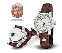 Kronsegler Dresden Green Ladies Watch Diamond Automatic rhod. - silver