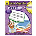 Teacher Created Resources 3492 Daily Warm-Ups Book, Reading, Grade 6