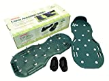 Lawn Aerator - Aerating Shoes / Sandals 13 X 3cm Spikes Per Shoe Easy Strap On