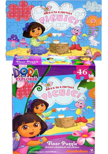 Dora Floor Puzzle, 46-Piece - 1