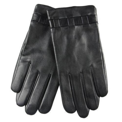 warmen-hommes-gants-en-cuir-nappa-italien-doublure-tissu-polaire-gant-de-conduite-automobile-8-noir