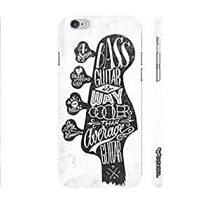 Apple Iphone 6 Bass Guitar is cooler designer mobile hard shell case by Enthopia