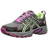 ASICS Women's Gel-venture 5 Running Shoe, Titanium/Pistachio/Pink Glow, 8.5 M US