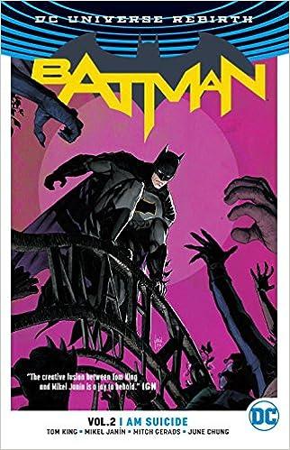 batman vol. 2: i am suicide cover
