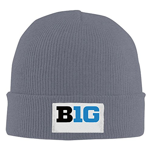 Winter Gig 10 Football Logo Beanie Hats Men Asphalt Elastic Rib Knit (Kansas State Chef Hat compare prices)