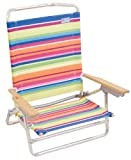 Rio High Back Beach Chair - 5 position LayFlat 1305