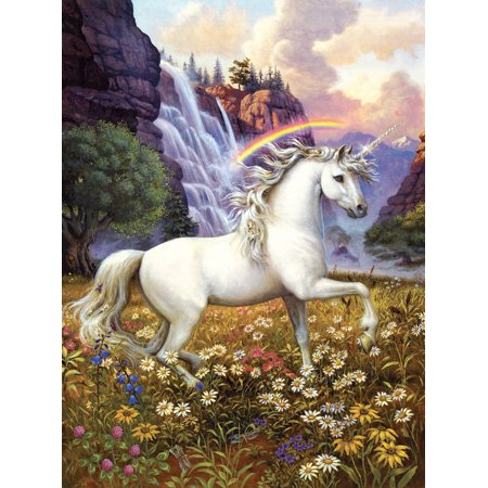 Picture of SunsOut Ruth Sanderson Unicorns Rainbow Valley 1000pc Jigsaw Puzzle (B001YJYIN6) (Jigsaw Puzzles)