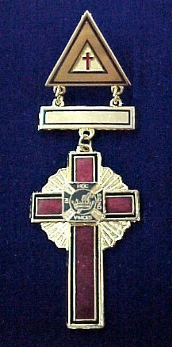 York Rite Past Commanders Masonic Medium Jewel