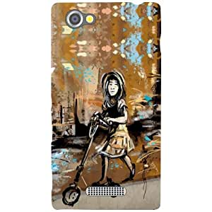 Sony Xperia M Back Cover - Tooned Designer Cases