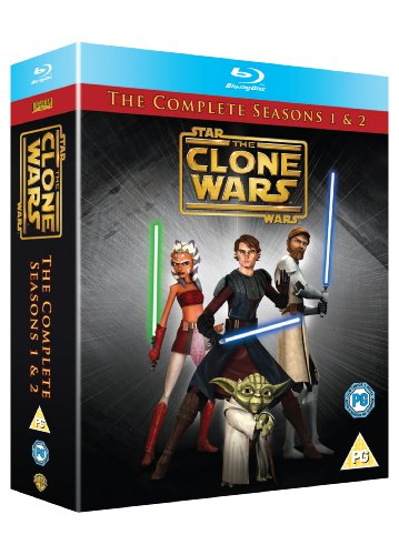 Star Wars Clone Wars - Season 1 and 2 [Blu-ray][Region Free]