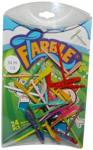 Flarble Pillow Package Flying Toy, 24-Piece