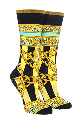 Stance Santigold Gold Links Crew Sock