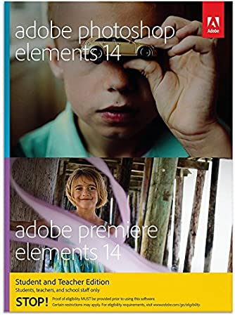 Adobe Photoshop Elements 14 & Premiere Elements 14 - Student/Teacher Edition (PC/Mac)