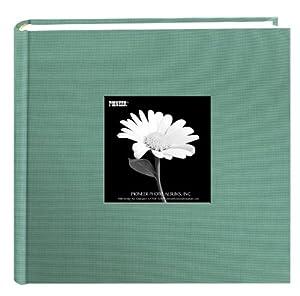 Pioneer Fabric Frame Cover Photo Album, Tranquil Aqua