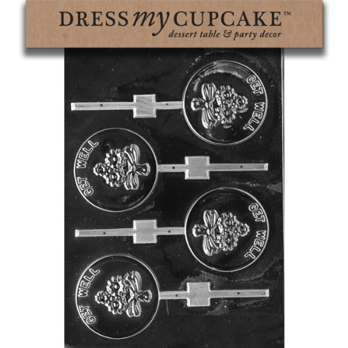 Dress My Cupcake DMCM047SET Chocolate Candy Mold,
