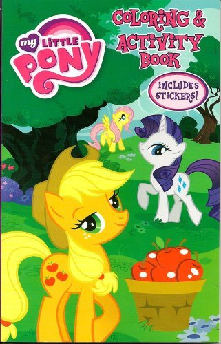 My Little Pony Coloring & Activity Book with Stickers