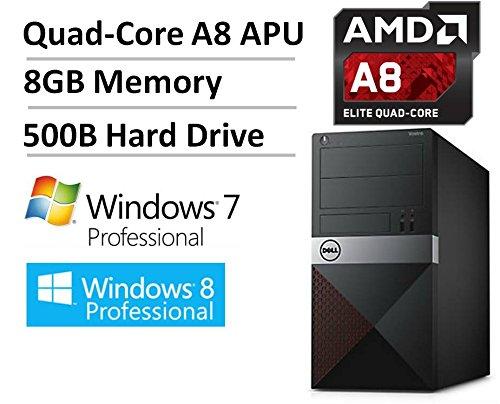 NEW Dell Vostro High Performance Business Desktop, AMD Quad-Core A8