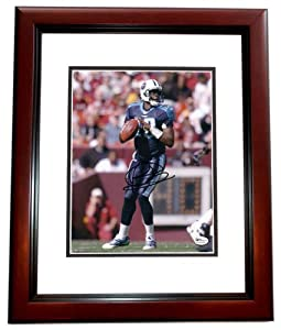 Vince Young Autographed Hand Signed Tennessee Titans 8x10 Photo - MAHOGANY CUSTOM... by Real Deal Memorabilia