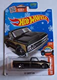 2016 Hot Wheels ホットウィール Holiday Exclusive 限定 Snowflake Card Hw Hot Trucks - '67 Chevy C10 [並行輸入品]