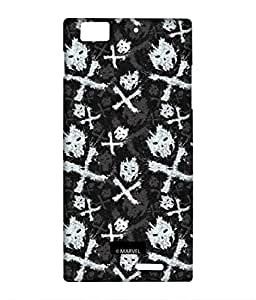 Block Print Company Symbolic Cross Bones Phone Cover for Lenovo K900