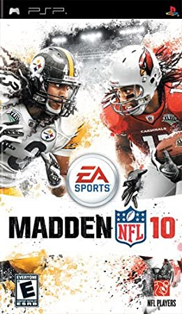 Madden NFL Football 10 (PSP) by Electronic Arts