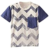 Wes & Willy Little Boys' Chevron Pocket Tee