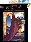 Ert� Stained Glass Coloring Book