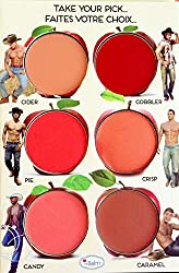 ADS How 'bout Them Apples Cheek and Lip Cream Palette (6 Colors)